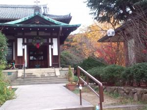 奈良基督教会礼拝堂玄関